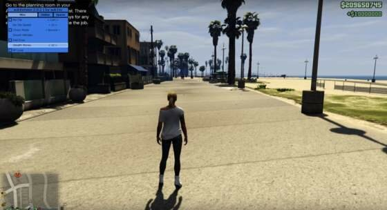 Чит SUBVERSION GTA 5:O INTERNAL v2.0.6